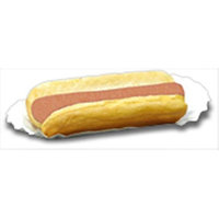 Benchmark USA 68004 Fluted Hotdog Trays