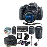 Canon T6I Camera 18-55mm with 11 Piece Accessory Kit - xtra lens 8546B002