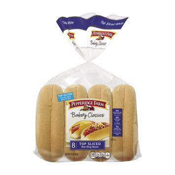 Pepperidge Farm® Bakery Classics Top Sliced Hot Dog Buns