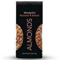 Wonderful Roasted Almonds - 40 oz.