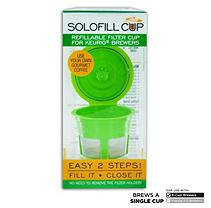 B.w. Cooper's Tea Solo-fill Reusable & Refillable Single Serve Cups for Keurig Brewers