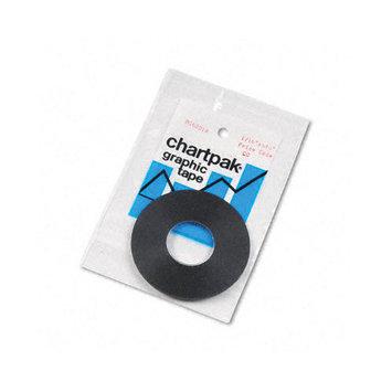 Chartpak Graphic Tape, Permanent, Self-Adhesive,1/16