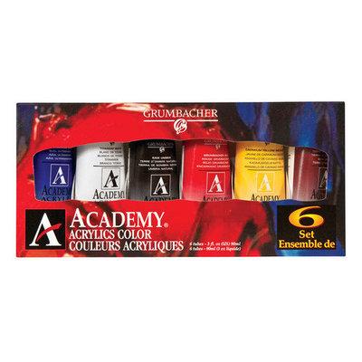 Alvin & Company Alvin GBC1026SET 90ml Acrylic Paint - Set of 6