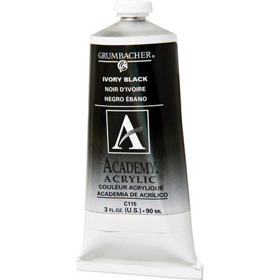 Alvin & Company Alvin GBC095B Acrylic Paint Grumbacher Red 90ml