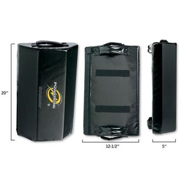 Century 10381 Powerline Uppercut Shield - Black