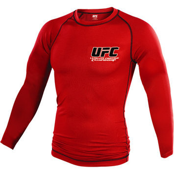 Century Llc UFC UFC Long Sleeve Red Classic Rashguard