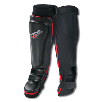 Century Drive Mens Grappling Guards for Shin or Instep - Pair Black S/M