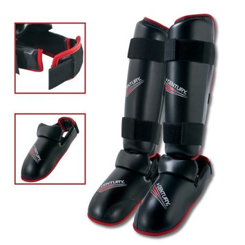 Century Drive Convertible Shin/Instep Guards, Size: Small