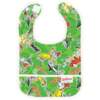 Bumkins Waterproof Starter Bib, Dr. Seuss Green Eggs