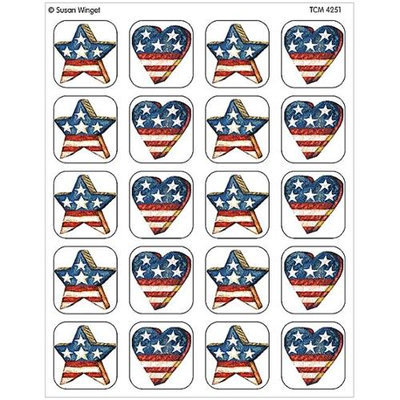 Teacher Created Resources 4251 Patriotic Stickers from Susan Winget