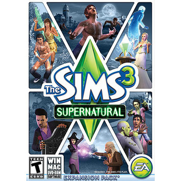 Electronic Arts 19781 Sims 3 Supernatural Limited Pc