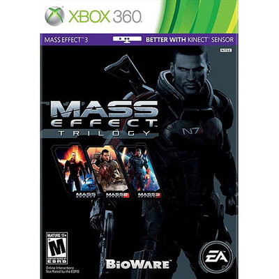 Electronic Arts 19805 Mass Effect Trilogy X360