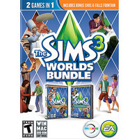Electronic Arts 73121 Sims 3 Worlds Bundle Pc