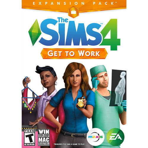 Electronic Arts The Sims 4: Get To Work Expansion Pack  (Win/Mac)