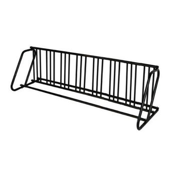 Hollywood Rack PS-16HD Dual Use 16 Bike Parking Stand Black