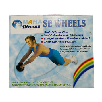 Bliss Hammocks, Inc. Maha Fitness Ab Wheel