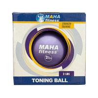 Bliss Hammocks, Inc. Maha Fitness Weighted Toning Ball - 3 lbs