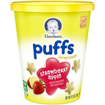 Gerber® Puffs Snack Cup | Strawberry Apple