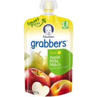 Gerber® Grabbers® Squeezable Puree | Apple Pear Peach