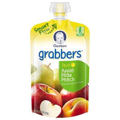 Gerber® Grabbers® Squeezable Puree | Apple Pear Peach