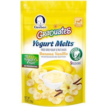Gerber® Graduates® Yogurt Melts® | Banana Vanilla
