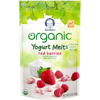 Gerber® Organic Yogurt Melts® | Red Berries