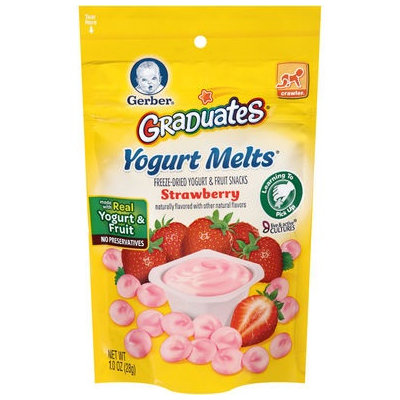 Gerber® Graduates® Yogurt Melts® | Strawberry
