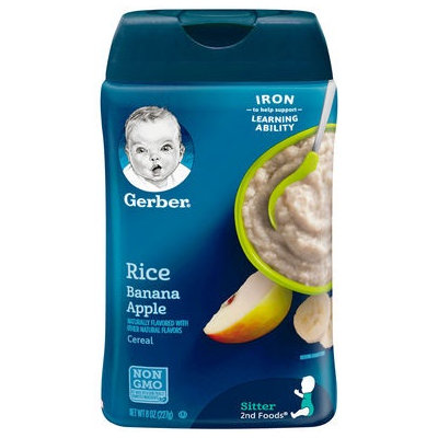 Gerber® Fruit & Grain Baby Cereal | Rice And Banana Apple