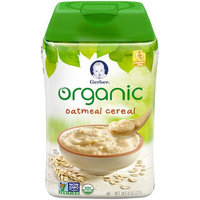 Gerber® Organic Single Grain Baby Cereal   Oatmeal