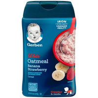 Gerber® Lil' Bits® Baby Cereal | Oatmeal Banana Strawberry