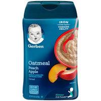 Gerber® Fruit & Grain Baby Cereal | Oatmeal Peach Apple