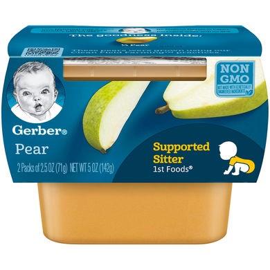Gerber® 1st Foods® Baby Food   Pear
