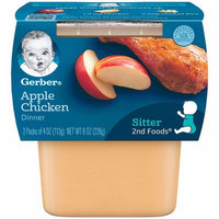 Gerber® 2nd Foods® Baby Food | Apple Chicken Dinner
