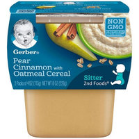 Gerber® 2nd Foods® Baby Food   Pear Cinnamon With Oatmeal Cereal