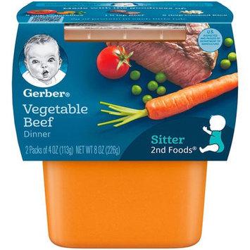 Gerber® 2nd Foods® Baby Food   Vegetable Beef Dinner