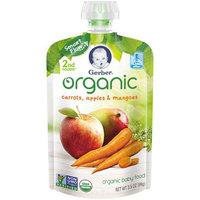 Gerber® Organic 2nd Foods® Baby Food   Carrots Apples & Mangoes