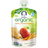 Gerber® Organic 2nd Foods® Baby Food | Apples Carrots & Squash