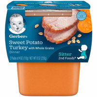 Gerber® 2nd Foods® Baby Food | Sweet Potato Turkey With Whole Grains Dinner