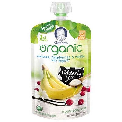 Gerber® Organic 3rd Foods® | Bananas Raspberries Vanilla With Yogurt