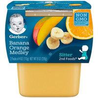 Gerber® 2nd Foods® Baby Food | Banana Orange Medley
