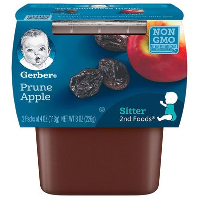 Gerber® 2nd Foods® Baby Food | Prune Apple