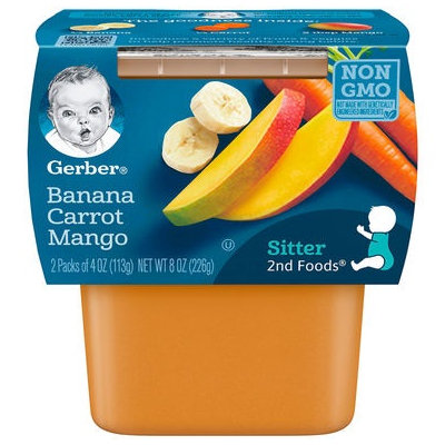Gerber® 2nd Foods® Baby Food | Banana Carrot Mango