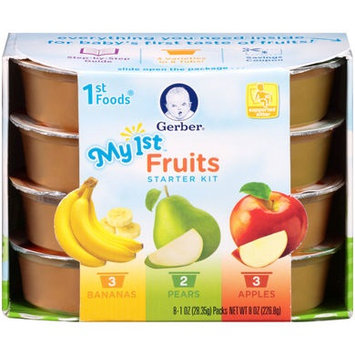 Gerber® 1st Foods® Baby Food | My 1st™ Fruits Starter Kit