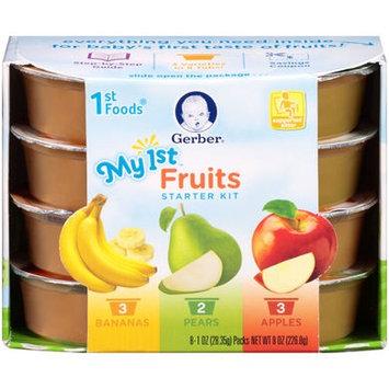 Gerber® 1st Foods® Baby Food | My 1st™ Fruits Starter Kit