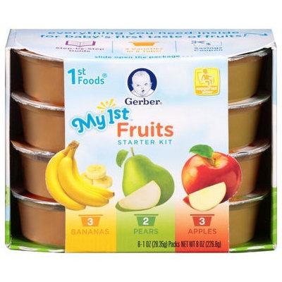 Gerber® 1st Foods® Baby Food   My 1st™ Fruits Starter Kit