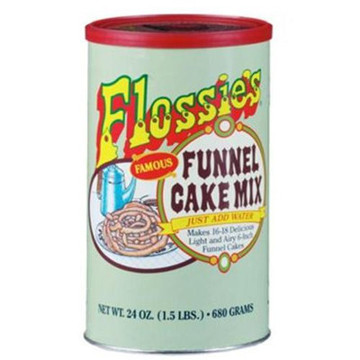 Flossies Famous Funnel Cake Mix - Apple Cinnamon