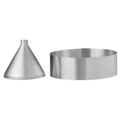Flossies Ring and Funnel Hardware for Funnel Cakes