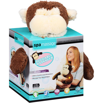 Spa Massage Monkey Huggable Massager