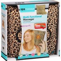 Spa Massage Multi-Functional Massager with Eyemask, Leopard, 2 pc