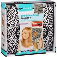 Spa Massage Multi-Functional Massager with Eyemask, Zebra, 2 pc